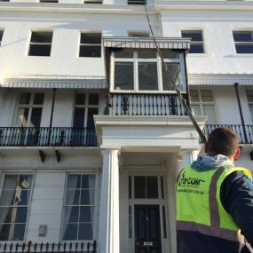 High Rise window Cleaning -Brighton